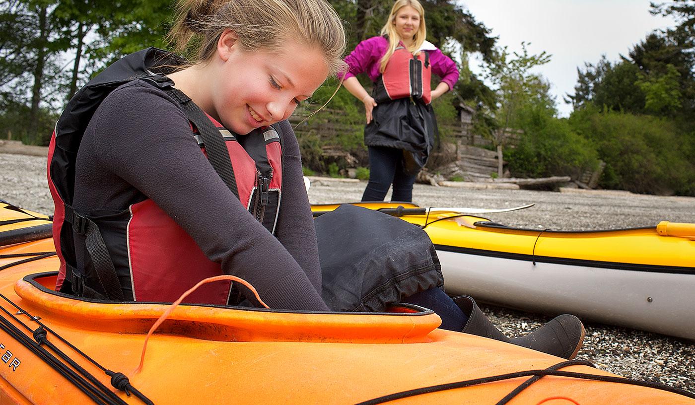 Preparing for an Ocean Kayak Trip