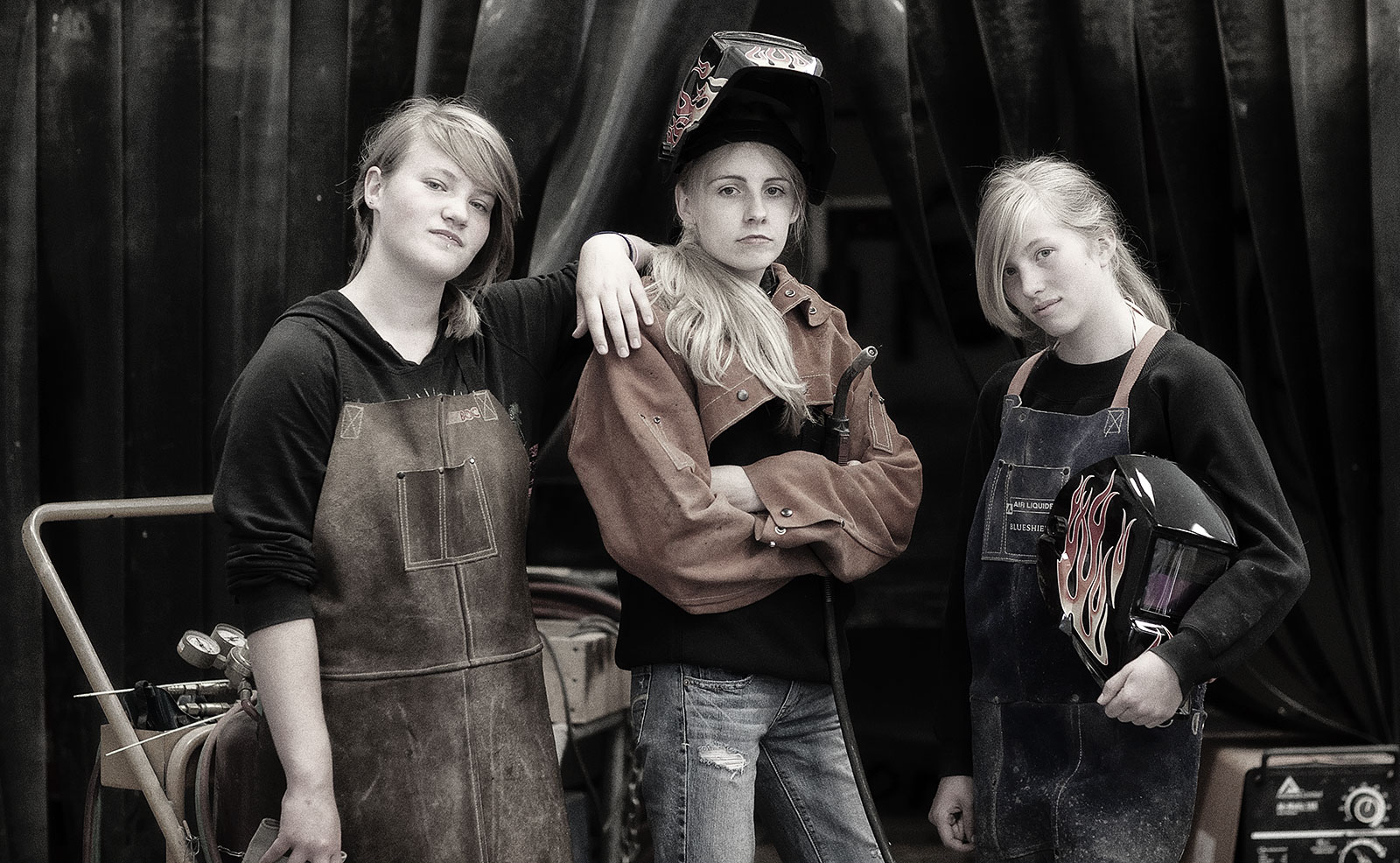 Three Welders